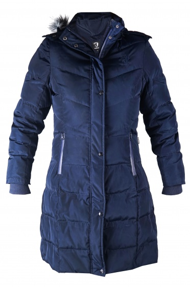 check out cf6be 8f7ee Wintermantel Gletscher Damen blau