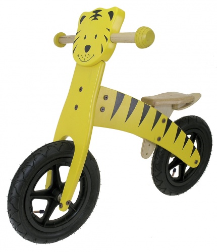 Kids Club Loopfiets Tijger 12 Inch Junior Geel