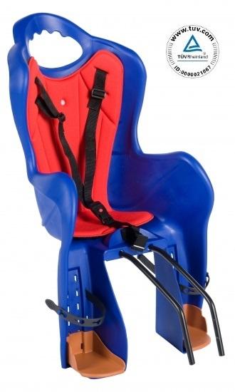 HTP fietszitje achter Elibas CS203T blauw