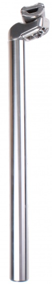Kalloy zadelpen vast 30,4 x 350 mm aluminium zilver