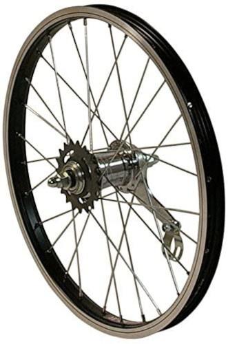 HZB achterwiel 16 inch (305) aluminium zwart
