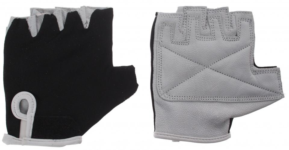 HZB fietshandschoenen Comfort leer/gel grijs/zwart maat XL