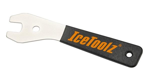 IceToolz conussleutel 17 mm 20 cm zilver/zwart