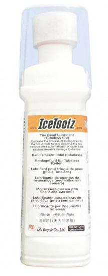 IceToolz montagevloeistof tubeless band 100 ml wit