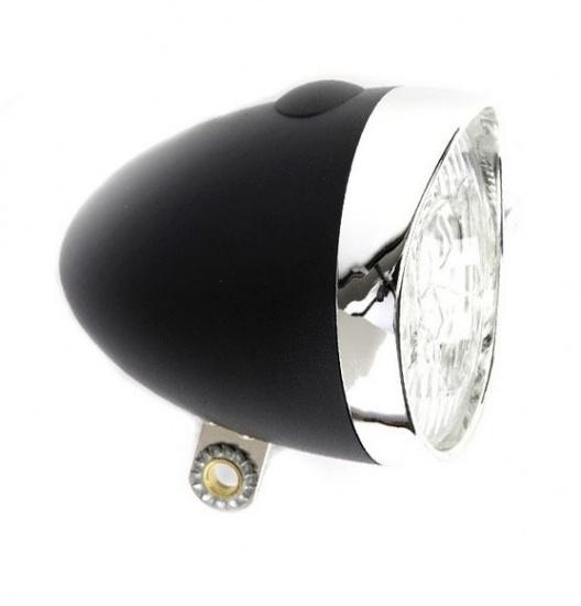 IKZI koplamp Retro zwart