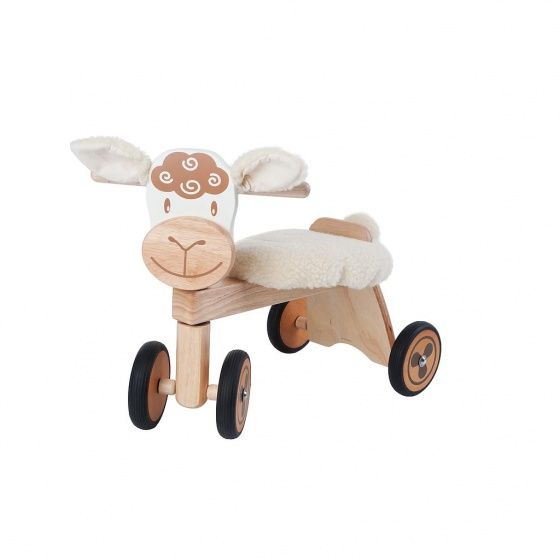 I'm Toy Loopfiets Schaap Junior Wit