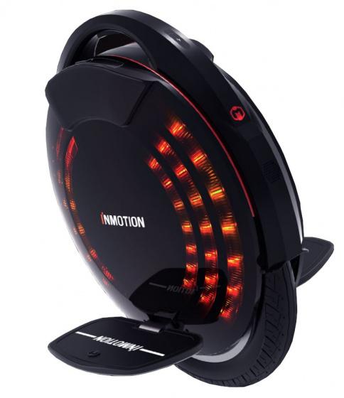 InMotion V8F Unisex Voetrem Zwart