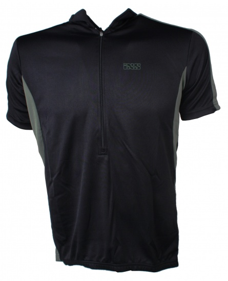 IXS Cusco Basic Comp Polo Heren Zwart Maat M