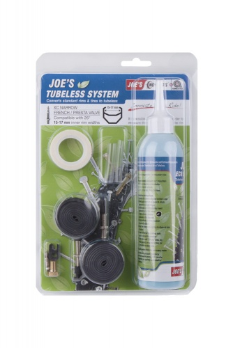 Joe's No Flats Binnenbandloze Set 26 Inch Voor 15 17 mm FV