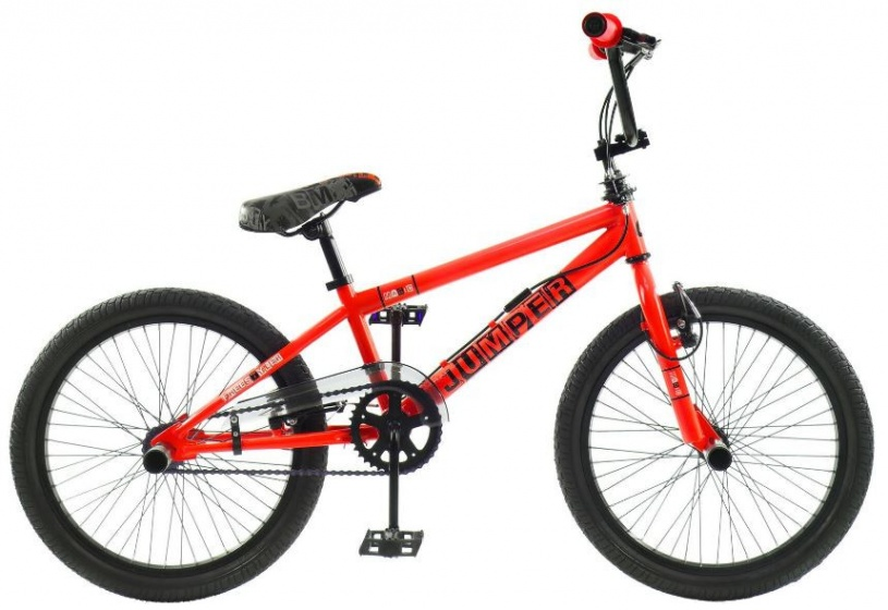 Winner BMX fiets 20 Inch 44 cm Unisex V Brake Rood