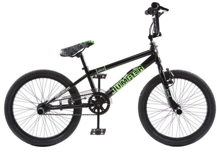 Winner BMX fiets 20 Inch 44 cm Unisex V Brake Zwart