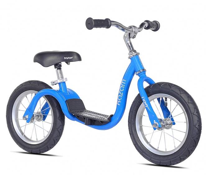 Kazam NEO v2s Balance Bike loopfiets 12 Inch Junior Blauw