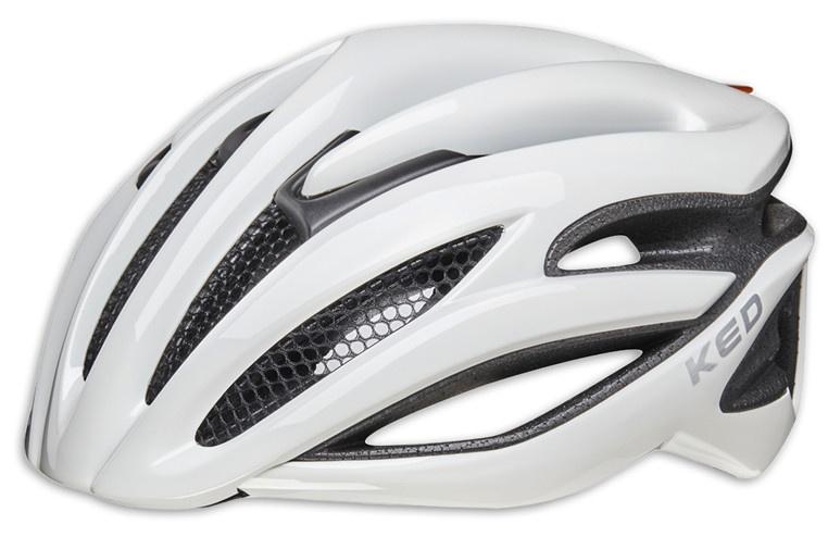KED fietshelm Wayron unisex wit maat 57 61 cm