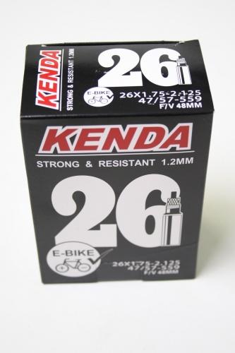 Kenda Binnenband E bike 26 x 1.75/2.125(47/57 559) FV 48 mm