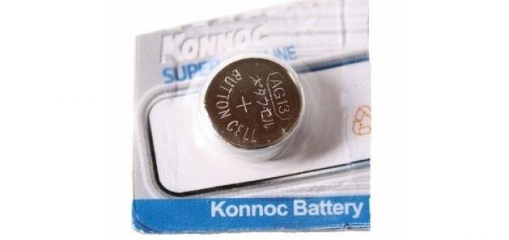 Konnoc Batterij knoopcel G13 per stuk