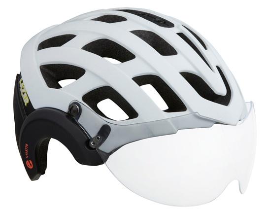 Lazer Anverz NTA E-Bike helm met LED mat wit