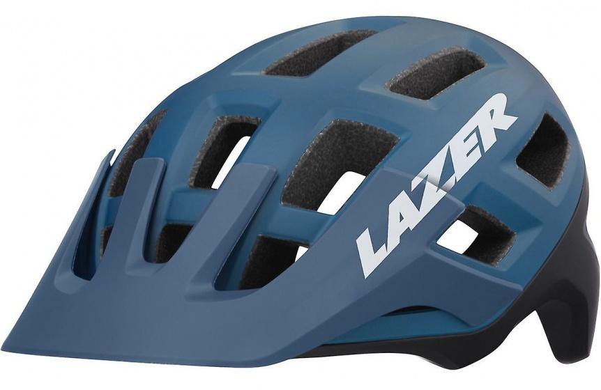 Lazer fietshelm Coyote unisex blauw maat 52 56 cm