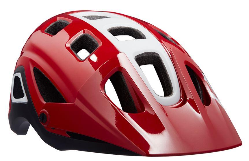 Lazer fietshelm Impala rood/wit maat 52 56 cm