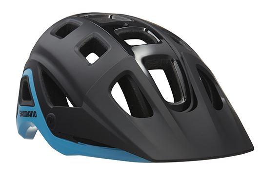 Lazer fietshelm Impala Team Shimano zwart/blauw maat 52 56 cm