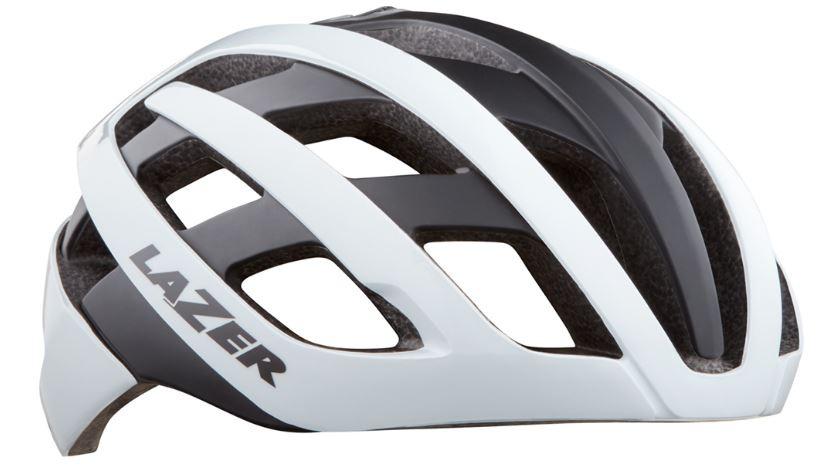 Lazer fietshelm Road Genesis Mips wit/zwart maat 52 56 cm