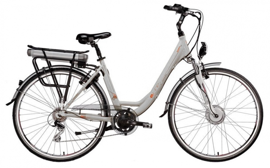 Leader Sara SF 28 Inch 53 cm Dames 6V V Brake Wit