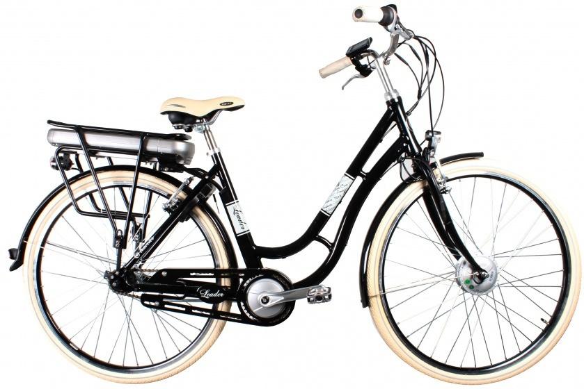 Leader Traveler 28 Inch 50 cm Dames 7V V Brake Zwart