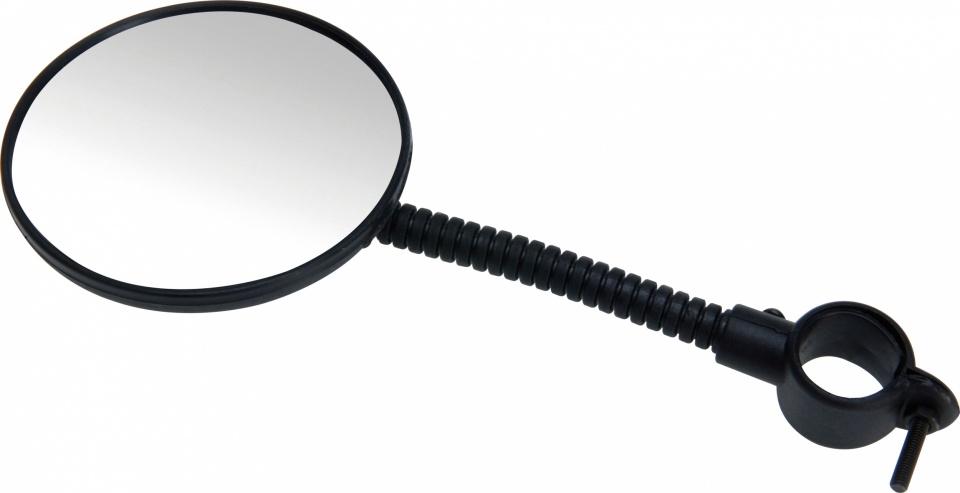 Lynx fietsspiegel 80 mm zwart
