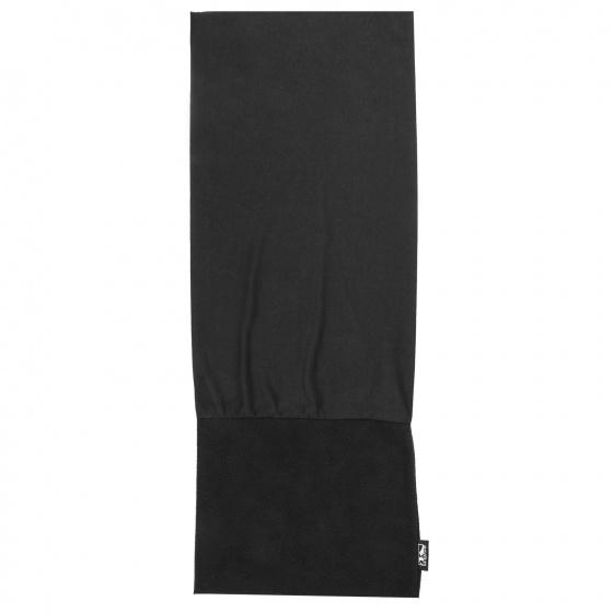 M Wave bandana naadloos multifunctioneel unisex zwart 24 x 70 cm