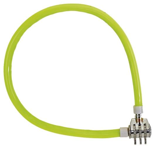 M Wave Combinatie Kabelslot 50 cm Geel