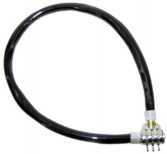 M Wave Kabelslot cijfercombinatie 500 x 12 mm zwart