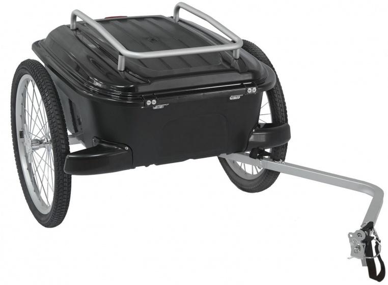 M Wave fietskar Carry All 20 Inch Unisex Zwart