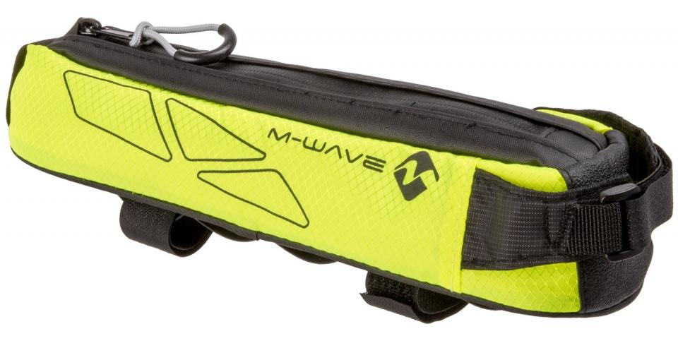 M Wave frametas Rough Ride top 0,75 liter zwart-geel