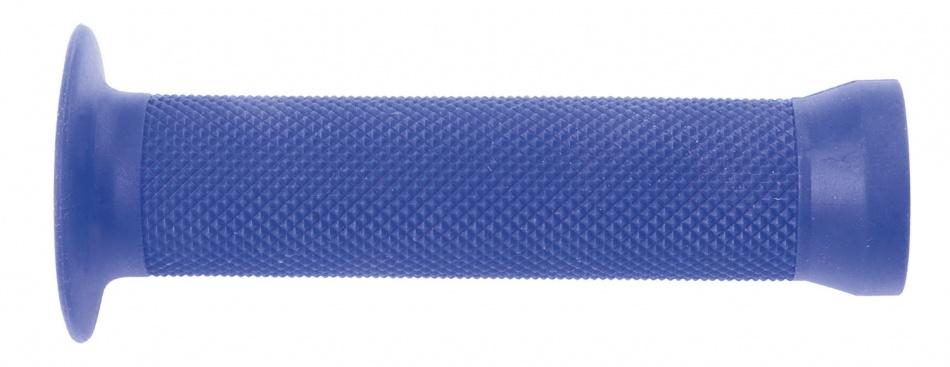 M Wave handvat BMX 130 mm rubber blauw 2 stuks