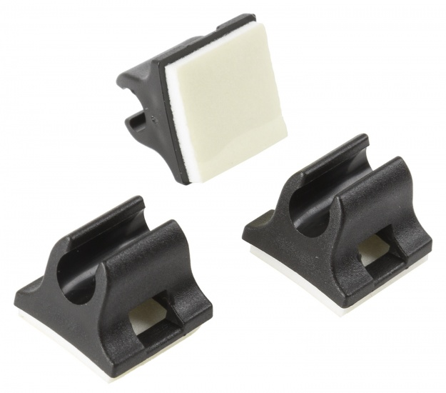 M Wave Kabelbegeleider 4 5 mm zwart 3 stuks