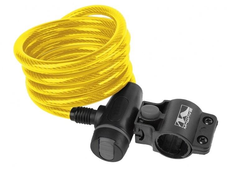 M Wave Spiraalslot S 10.18 1800 x 10 mm geel