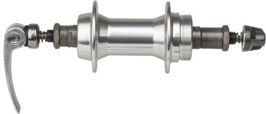 M Wave Naaf Achter Aluminium 36 Gaats Zilver Quick Release