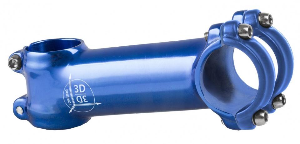 M Wave stuurpen voorbouw vast 28,57/100/31,8 mm 7° blauw