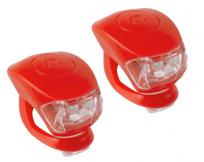 M Wave Verlichtingsset LED Rood 2 Stuks