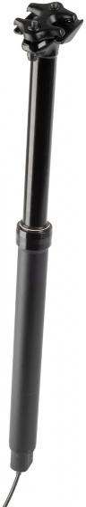 M Wave zadelpen Levitate 30,9 x 440 mm aluminium zwart
