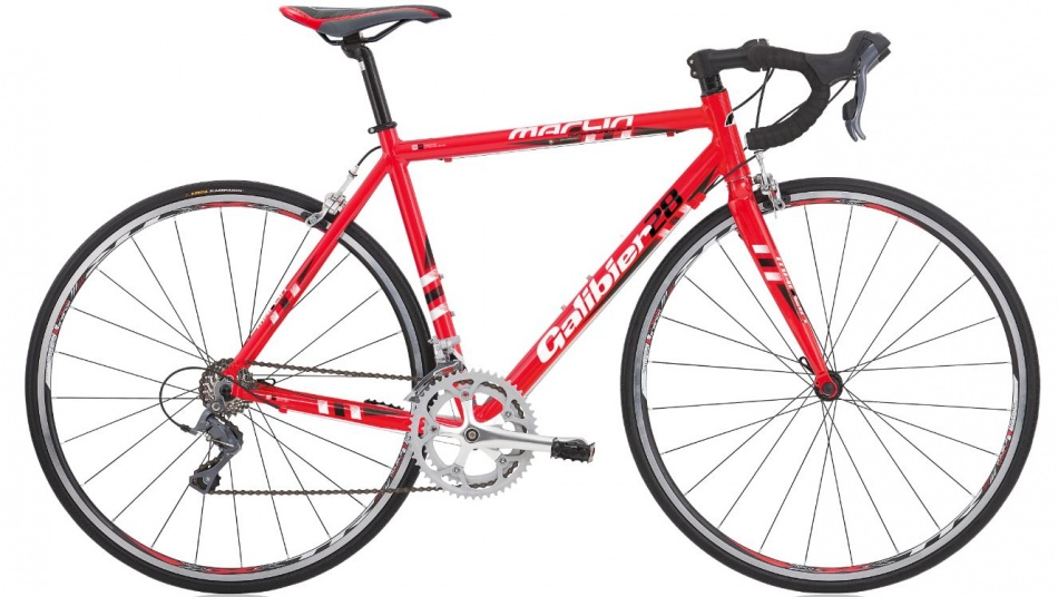 Marlin Galibier 28 Inch 56 cm Heren 16V Cantilever Rood
