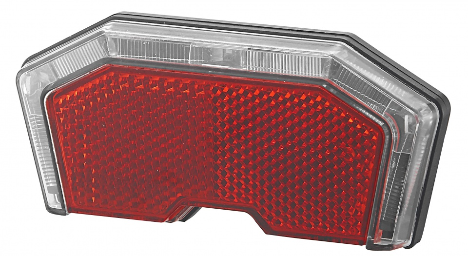 Marwi achterlicht Union E bike led accu rood