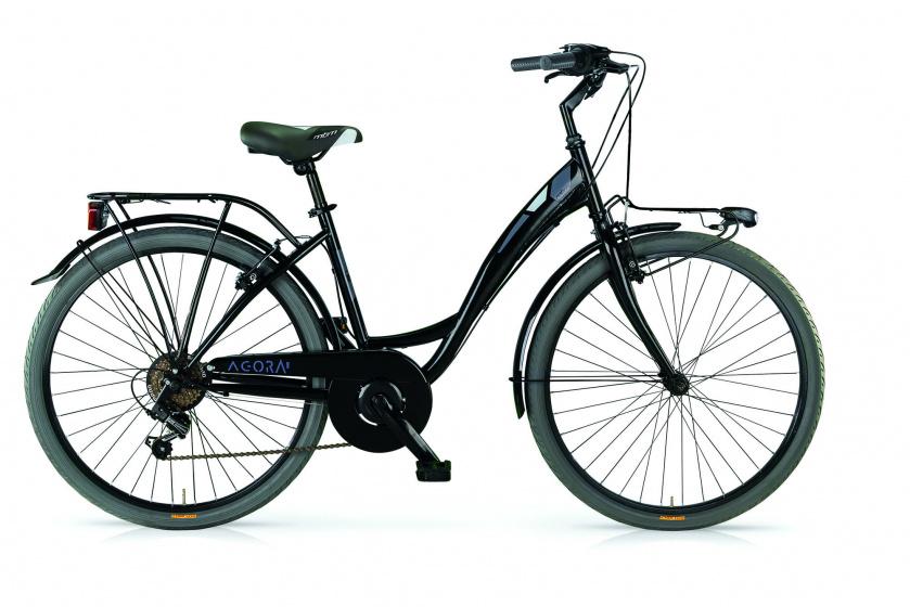 Mbm Agora 28 Inch 46 Cm Dames 6v V-brakes Zwart online kopen