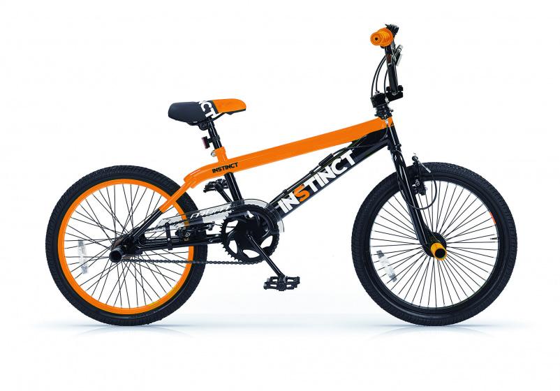 Mbm Instinct 20 Inch 49 Cm Jongens V-brake Zwart/oranje online kopen