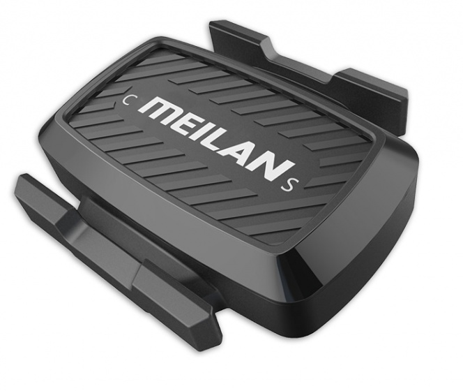 Meilan snelheids en cadanssensor Bluetooth 3,5 x 3 cm zwart