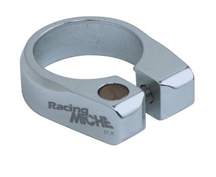 Miche Zadelpenklem aluminium 34.9 mm zilver