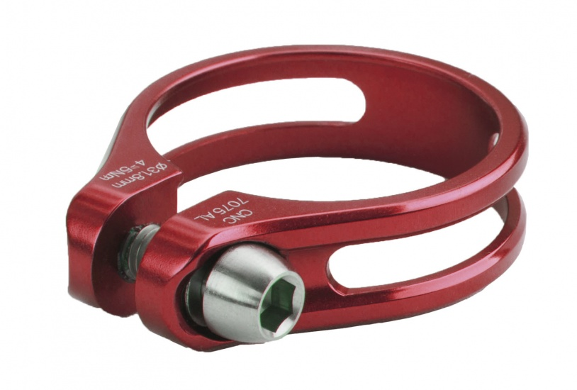 Mighty Zadelpenklem SC Slti 34,9 mm rood