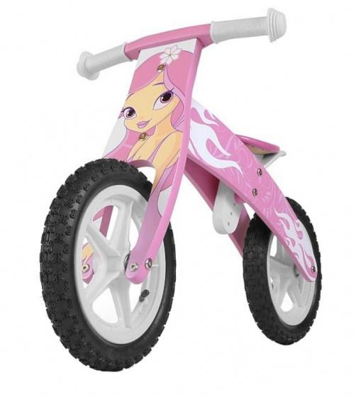 Milly Mally Loopfiets Flip Pink 12 Inch Junior Roze online kopen