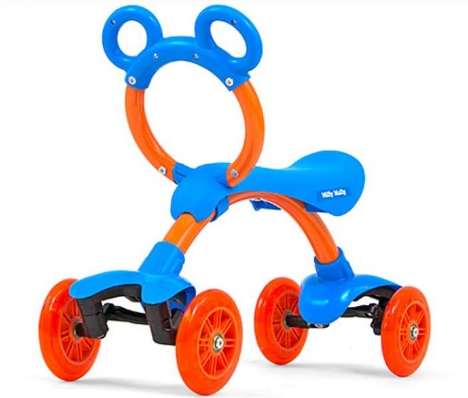Milly Mally Orion Flash loopfiets Junior Blauw/Oranje
