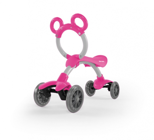 Milly Mally Orion Flash loopfiets Junior Roze