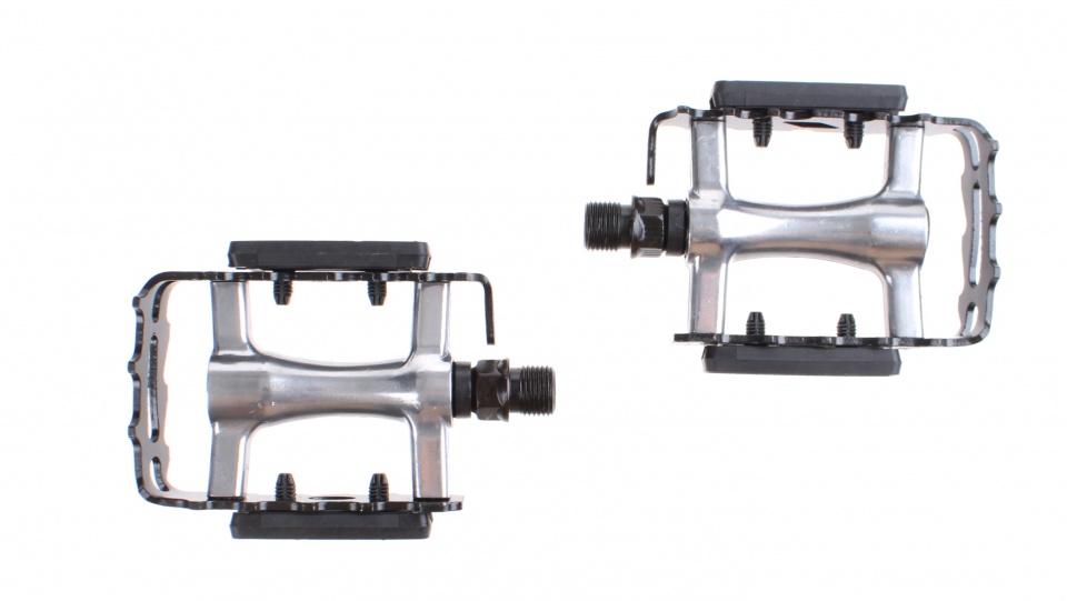 Mirage ATB-MTB pedalen antislip zwart-zilver 9-16 inch reflectoren